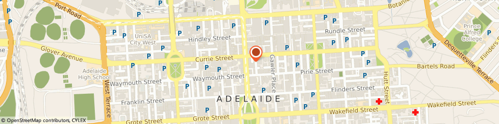 Route/map/directions to Cleaner Energy SA, 5000 Adelaide, 90 King William Street