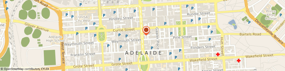 Route/map/directions to Adelaide Jazz Bands, 5000 Adelaide, King William St