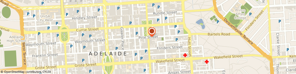 Route/map/directions to SunEnergy, 5000 Adelaide, 5/44 Pirie St