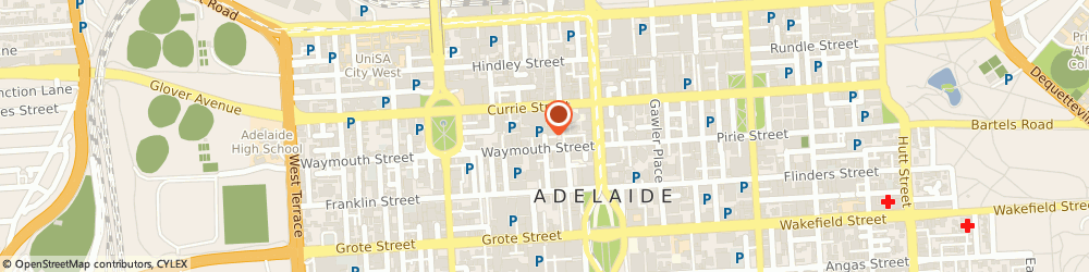 Route/map/directions to Chiro Adelaide, 5000 Adelaide, 16 Topham Mall