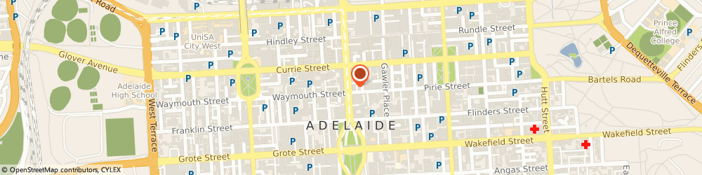 Route/map/directions to Oncall Interpreters & Translators Agency Pty Ltd, 5000 Adelaide, LEVEL 8, 118 KING WILLIAM ST
