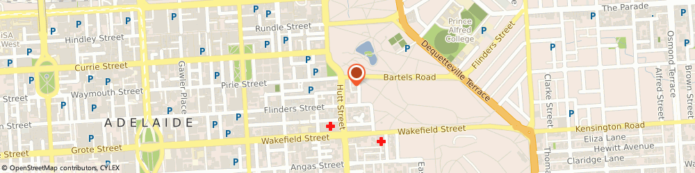Route/map/directions to Cota Insurance, 5000 Adelaide, 16 Hutt Street