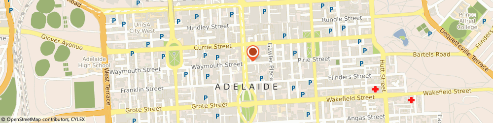 Route/map/directions to Martin Insurance Agencies Pty Ltd, 5000 Adelaide, 118 King William Street