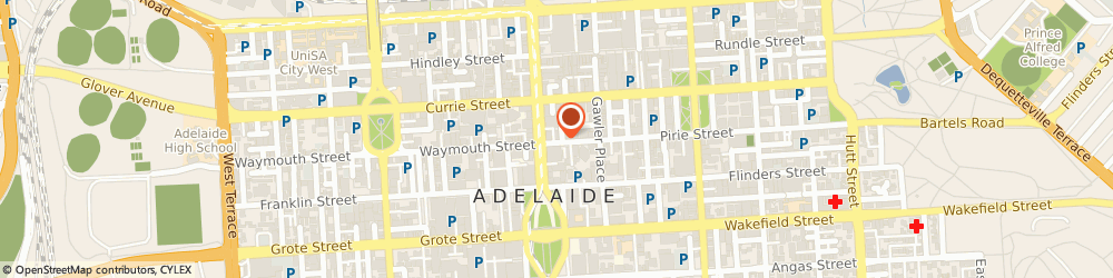 Route/map/directions to Co Working Spaces Adelaide, 5000 Adelaide, 12 Pirie St