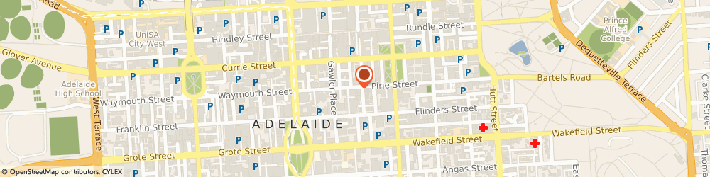 Route/map/directions to Electrician Adelaide, 5000 Adelaide, 97 Pirie St