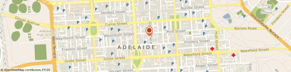 Route/map/directions to Citizens Advice Bureau (Adelaide Sa), 5000 Adelaide, 45 PIRIE STREET