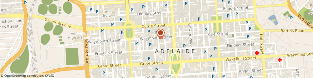 Route/map/directions to Peppers Waymouth Adelaide, 5000 Adelaide, 55 Waymouth Street