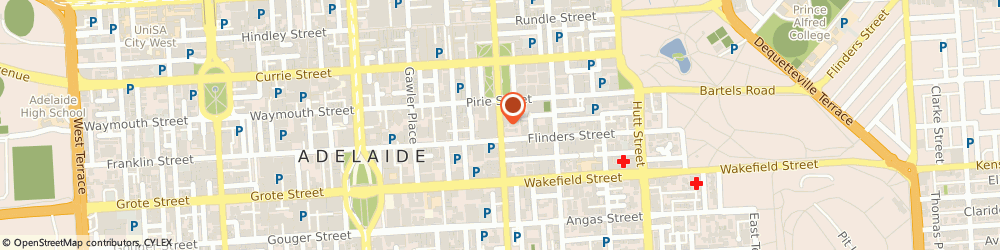 Route/map/directions to South Australian Casting, 5000 Adelaide, Level 2/186 Pulteney St