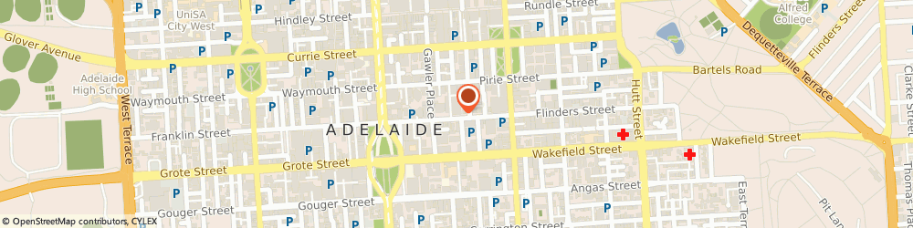 Route/map/directions to Sgic, 5000 Adelaide, 80 FLINDERS ST