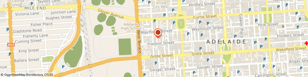 Route/map/directions to Osmond Electronics Pty Ltd, 5000 Adelaide, 142 Gray St