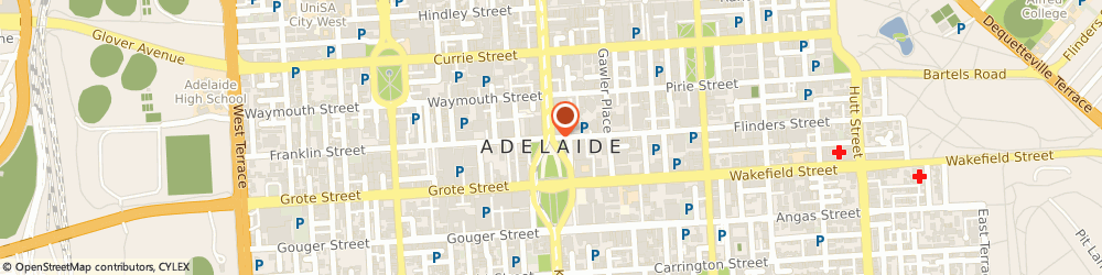Route/map/directions to Davey (Adelaide Sa), 5000 Adelaide, STREET
