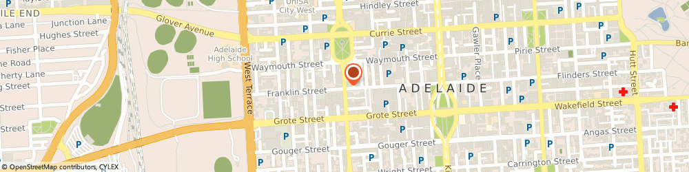 Route/map/directions to ABF Solutions, 5000 Adelaide, 453A Morphett St