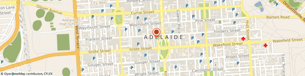 Route/map/directions to Eynesbury College, 5000 Adelaide, 15- 19-19 Franklin St