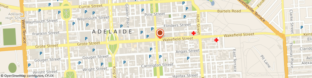 Route/map/directions to Bob Jane T-Marts, 5000 Adelaide, Pulteney Street