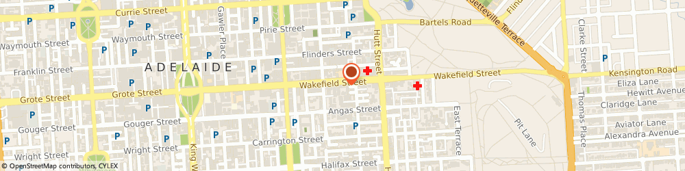 Route/map/directions to Warwick O'Brien Architects, 5000 Adelaide, 237 Wakefield Street