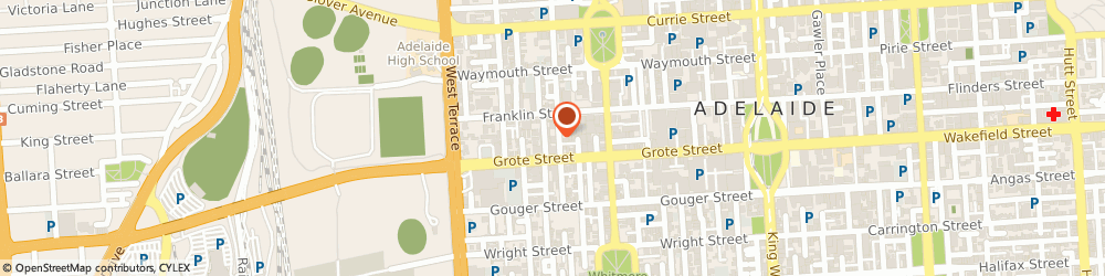 Route/map/directions to Adelaide Furniture & Kitchens, 5000 Adelaide, 55 Byron Place