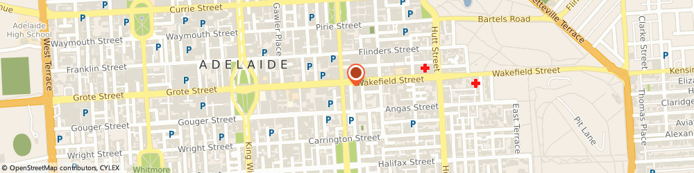 Route/map/directions to Acs Security, 5000 Adelaide, 246 Pulteney Street