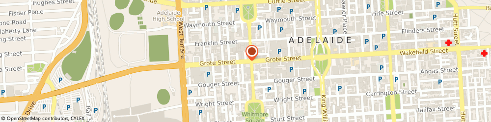 Route/map/directions to TeleChoice, 5000 Adelaide, Grote Street