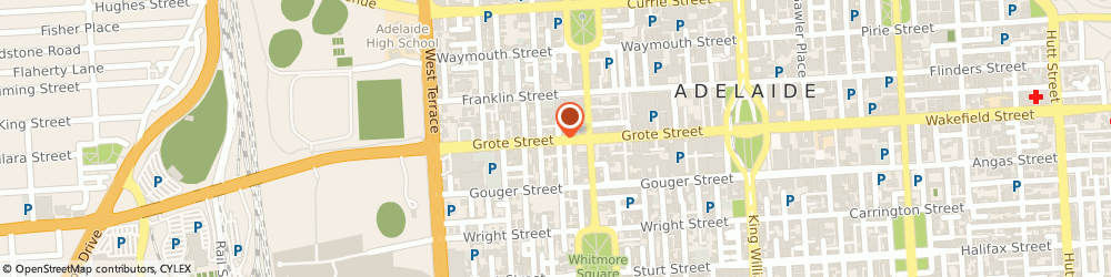 Route/map/directions to The Spare Place, 5000 Adelaide, 172 GROTE STREET