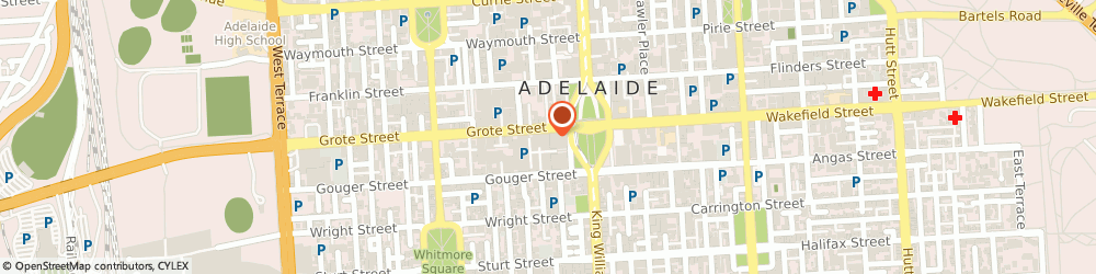 Route/map/directions to Adelaide's Pop-up Bookshop, 5000 Adelaide, Grote St