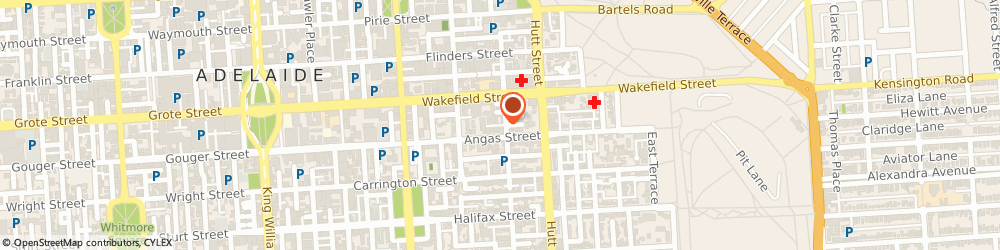 Route/map/directions to Riedel Security Services, 5000 Adelaide, 254 ANGAS STREET