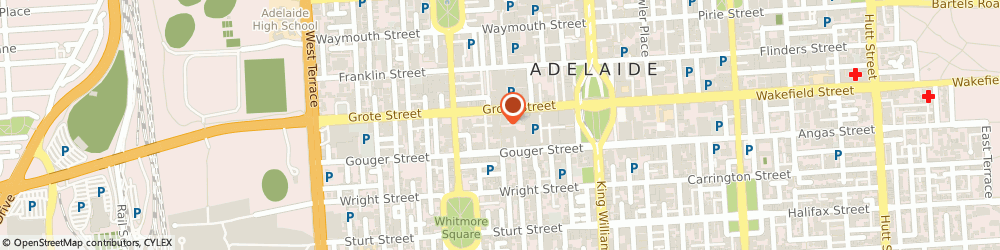Route/map/directions to Vodafone Adelaide Market Plaza, 5000 Adelaide, Shop 27F Market Plaza 14 Moonta Street