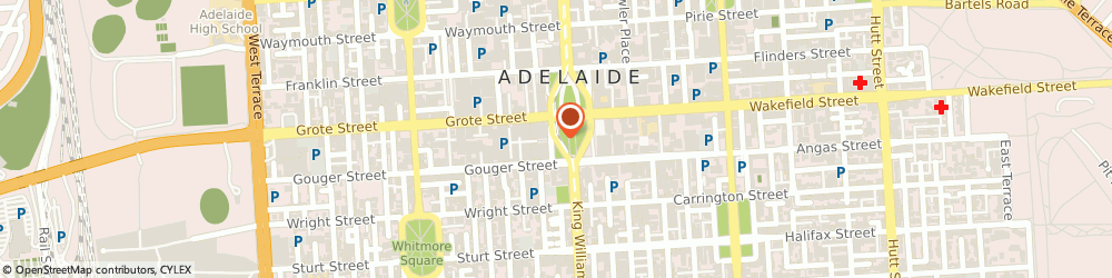 Route/map/directions to Water Industry Alliance Inc, 5000 Adelaide, 250 Victoria Sq