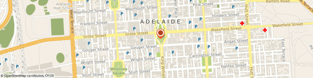 Route/map/directions to Persian Art Treasure Adelaide Central Market, 5000 Adelaide, 1 Victoria Sq