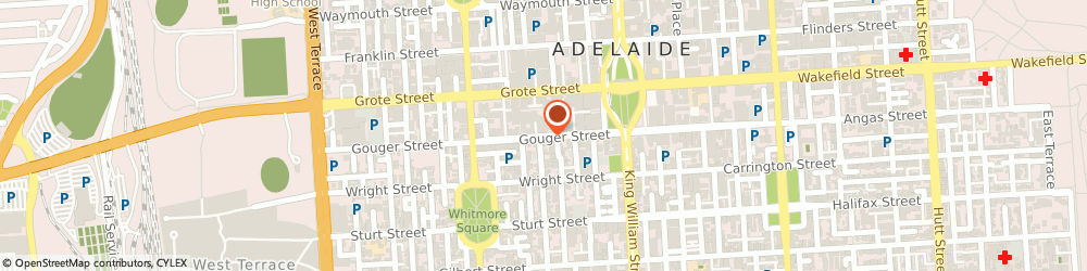 Route/map/directions to Westpac Adelaide, 5000 Adelaide, 64 Gouger St