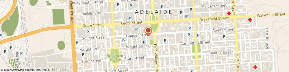 Route/map/directions to St Louis, 5000 Adelaide, 19 Gouger St