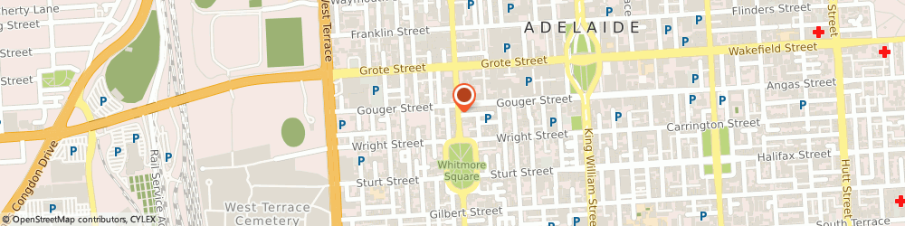 Route/map/directions to Goodyear Autocare Car Service ADELAIDE, 5000 Adelaide, 145 Gouger St