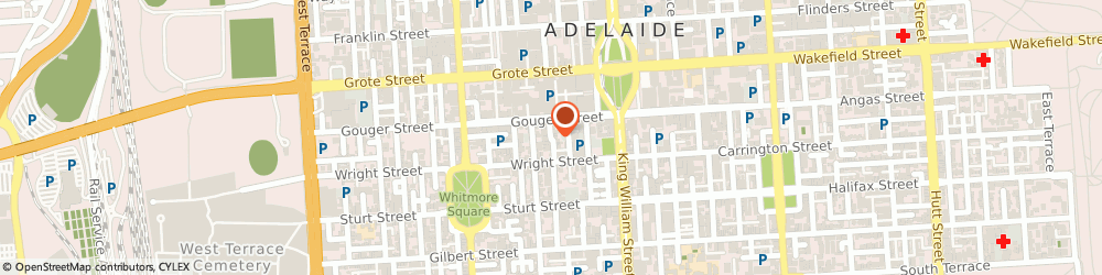 Route/map/directions to Camera House, 5000 Adelaide, Central Market