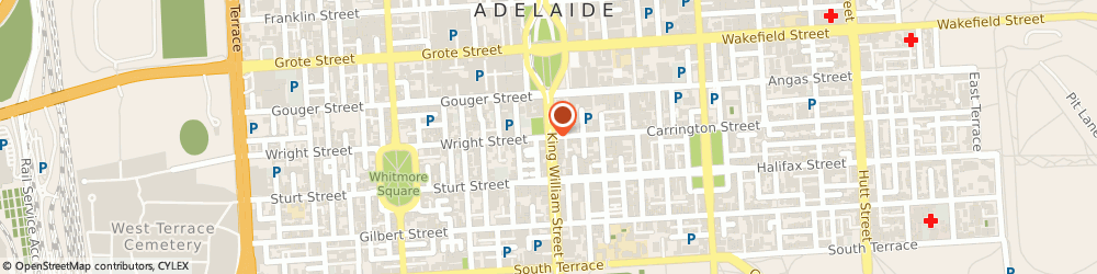 Route/map/directions to Upholstered Adelaide, 5000 Adelaide, 129 Wright St
