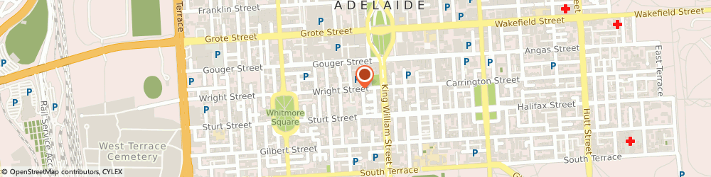 Route/map/directions to Fukurou Hair And Beauty Studio, 5000 Adelaide, 36-42 Wright St, Shop 3