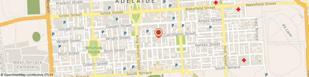 Route/map/directions to Secure You, 5000 Adelaide, 61-63 Carrington St