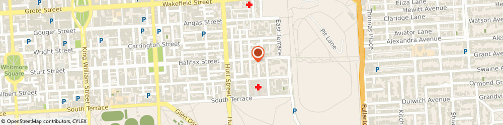 Route/map/directions to Nelson Locksmiths Pty Ltd, 5000 Adelaide, 333 Halifax Street