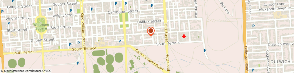 Route/map/directions to Griffin Alliance, 5000 Adelaide, 18 Charlotte Place