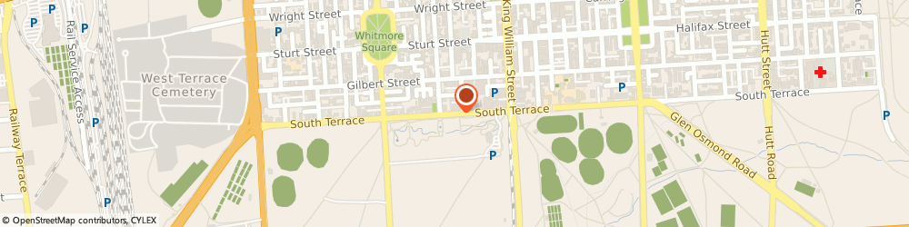 Route/map/directions to CD Events, 5000 Adelaide, Ground Floor, 124 South Terrace