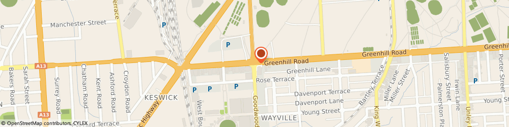 Route/map/directions to Cleanawater, 5034 Wayville, 8 Greenhill Rd