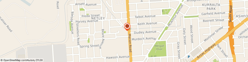 Route/map/directions to Digitally Up, 5037 Adelaide, Unit 7, 320 Marion Road
