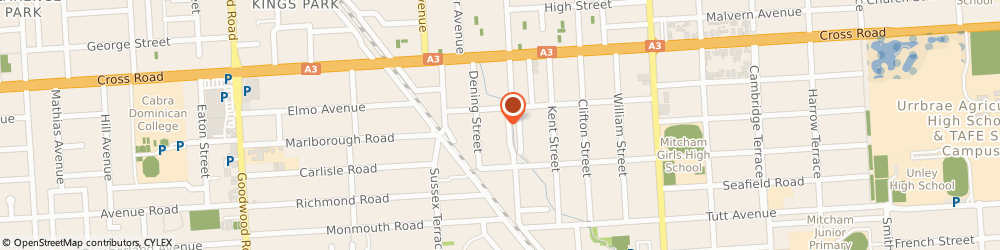 Route/map/directions to Mayfair Plumbing and Gasfitting, 5062 Hawthorn, 10 Jervois Street