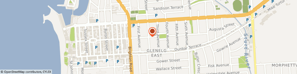 Route/map/directions to Adelaide Psychological Services, 5045 Glenelg East, 39 Augusta St