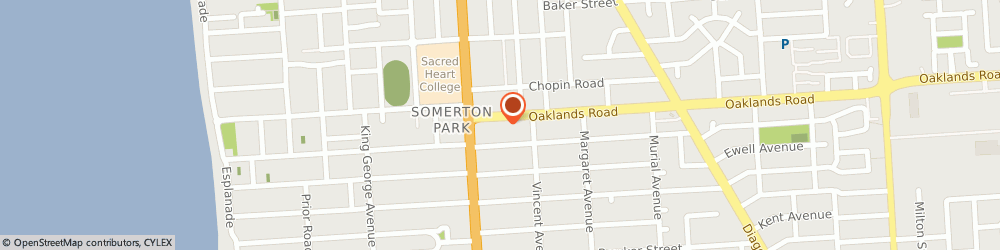 Route/map/directions to Solar Choice Australia, 5044 Somerton Park, 7 Oaklands Road