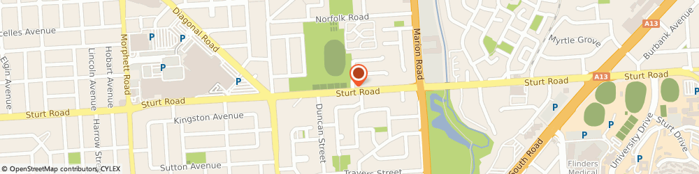 Route/map/directions to Gay & Lesbian Psychology & Counselling Services, 5043 Mitchell Park, 266 Sturt Road