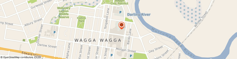 Route/map/directions to Kmart Discount Store Wagga Wagga, 2650 Wagga Wagga, Sturt Mall S/C, Forsyth St