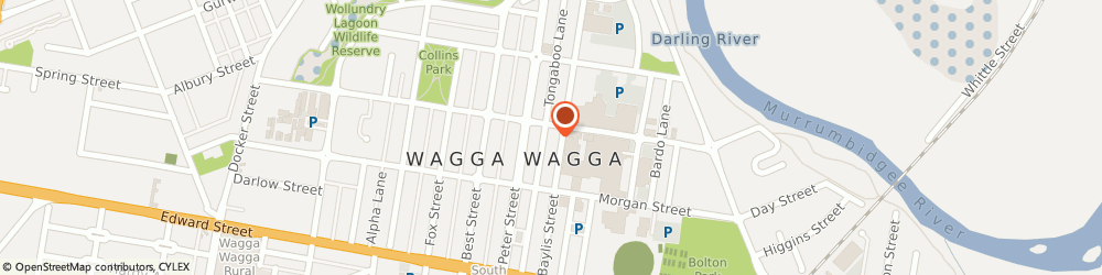 Route/map/directions to Rubi Shoes, 2650 Wagga Wagga, 120 Bayliss Street