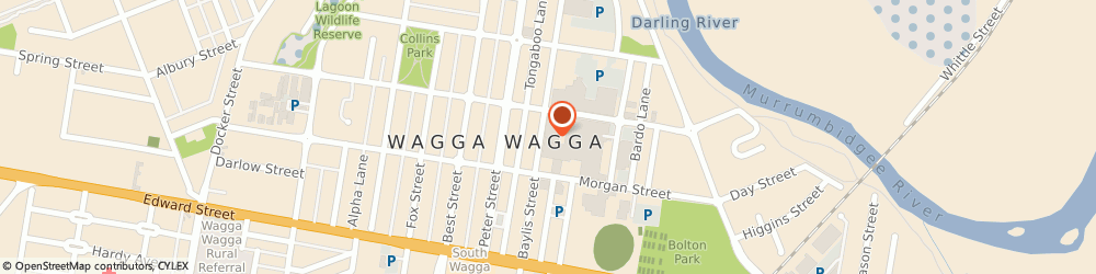 Route/map/directions to Adairs Wagga Wagga - Closed, 2650 Wagga Wagga, 109 Baylis Street