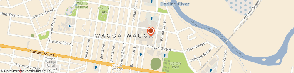 Route/map/directions to Sunglass Hut, 2650 Wagga Wagga, 87 Bayliss St