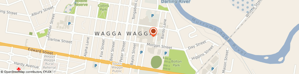 Route/map/directions to Sanity, 2650 Wagga Wagga, Wagga Wagga Marketplace, Baylis Street
