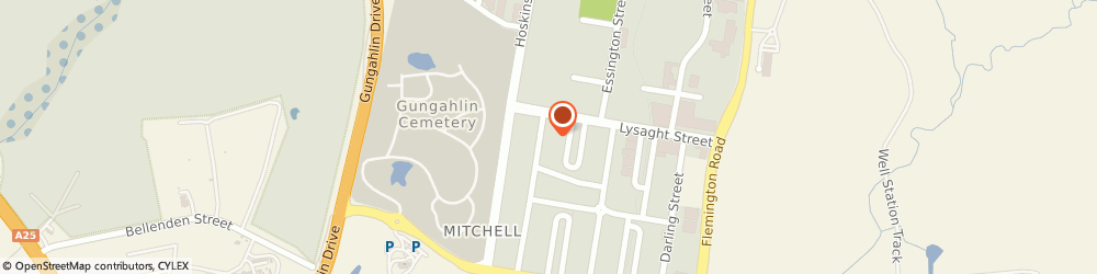 Route/map/directions to Reece HVAC-R Mitchell, 2911 Mitchell, 13-17 Grimwade Street